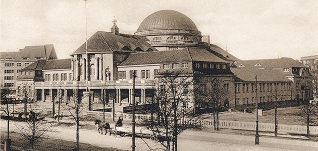 Hauptgebäude der Universität Hamburg, Edmund-Siemers-Allee 1