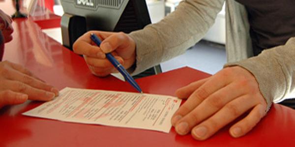 Formular im Campus Center