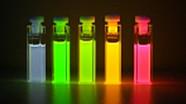 Fluoreszierende Röhrchen