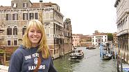 Studentin der Uni Hamburg in Venedig