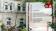 Fassade und Infotafel des CareerCenters