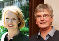 Prof. Dr. Jetta Frost  und Prof. Dr. Jan Louis