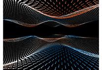 Geometrie der Eigenstände der zwei Bloch-Bänder
