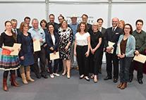 Die Preisträgerinnen und -träger des Hamburger Lehrpreises 2016