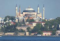 Istanbul mit der Hagia Sophia