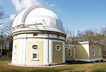 1-Meter-Spiegelteleskop der Hamburger Sternwarte