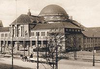 Historische Aufnahme des Vorlesungsgebäudes