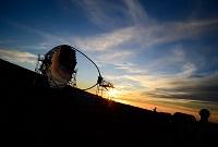 Physik Desy Magic Sonnenuntergang