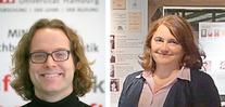 Links: Dr. Timo Baumann, rechts: Dr. Cristina Vertan