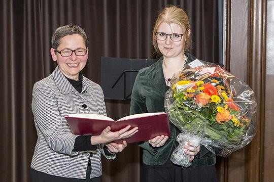 VP Rupp und Ann-Katrin Meyer
