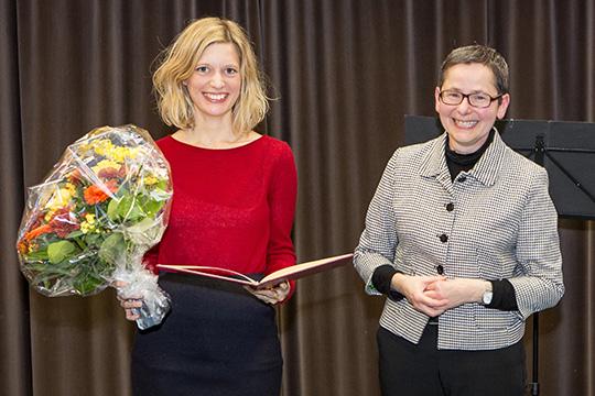 VP Rupp und Katharina Felka
