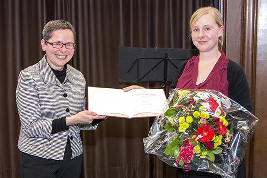 VP Rupp und Myriam Gröpl