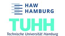 Logos der HAW und der TUHH