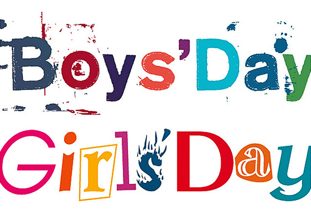 Logo des Girls' Day und Boys' Day