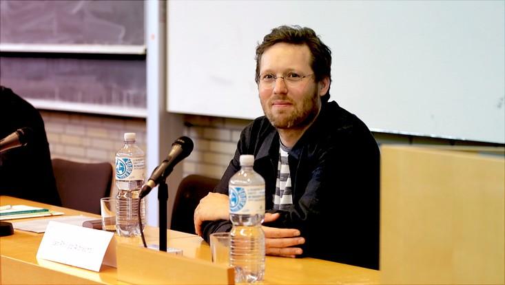 Jan Philipp Albrecht, MdEP, spricht an der Uni Hamburg über die Datenschuzgrundverordnung