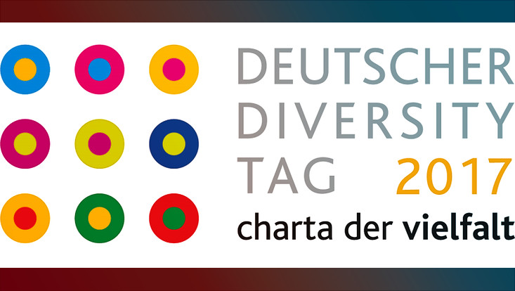 Das Logo der Charta der Vielfalt zum Diversity-Tag 2017
