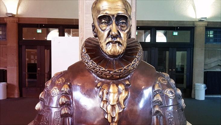 Der wichtige Mitbegründer der Universität Hamburg, Werner von Melle.