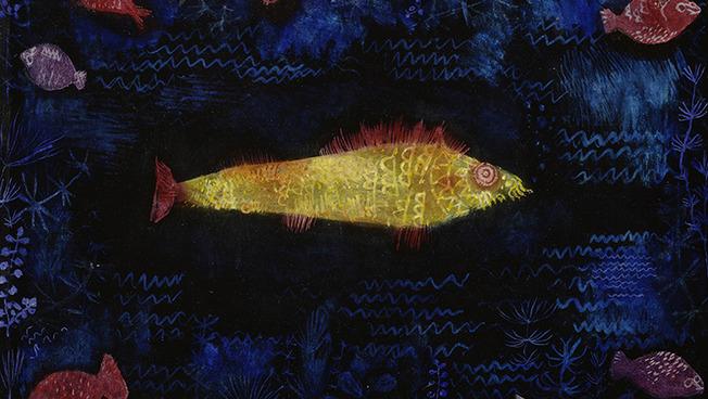 """Bild """"Der Goldfisch"""" von Paul Klee"""
