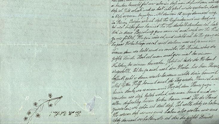 Feldpostbrief aus dem Jahr 1918