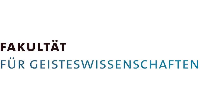 Logo der Fakultät für Geisteswissenschaften
