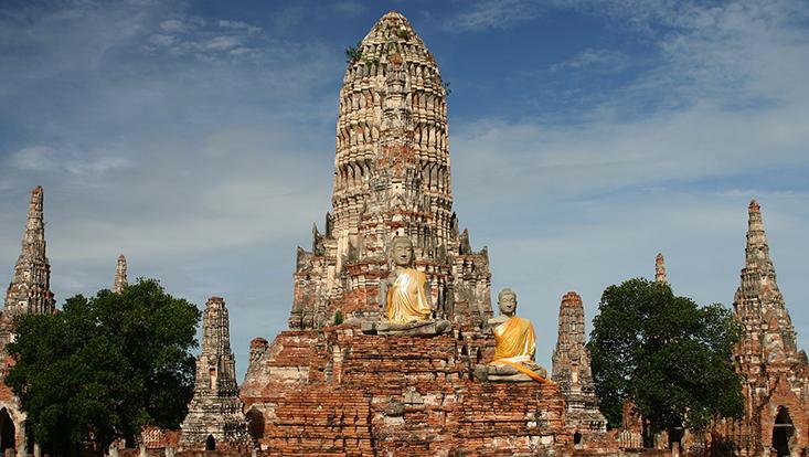 Buddhistische Tempelanlage Wat Chai Watthanaram