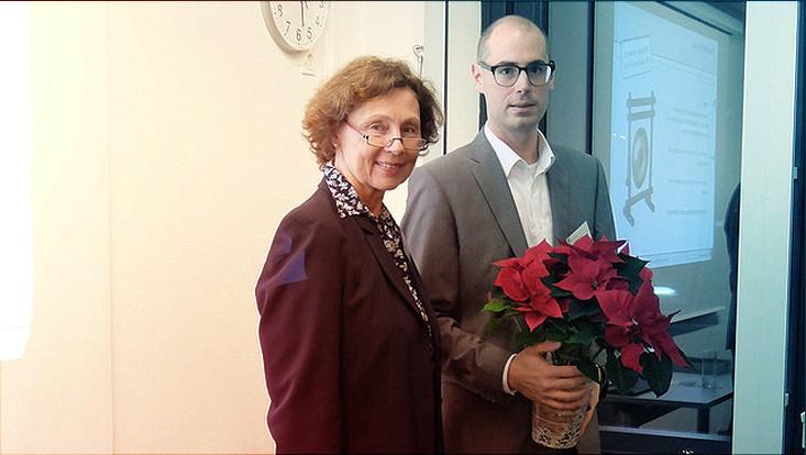 Fr.Dr. Pasche-Kratzin und Prof.Dr. Vogel