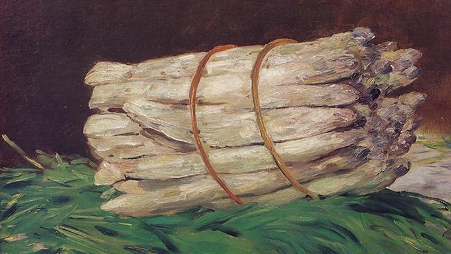 Édouard Manet: Spargelbündel, 1880