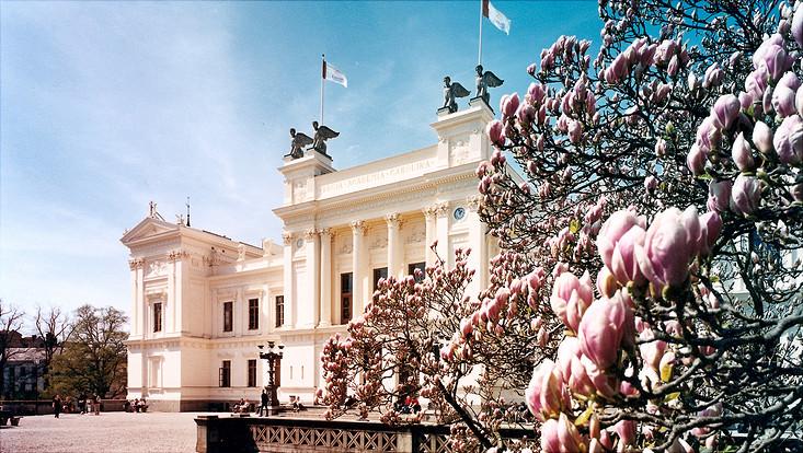 Hauptgebäuder der Lund Universität