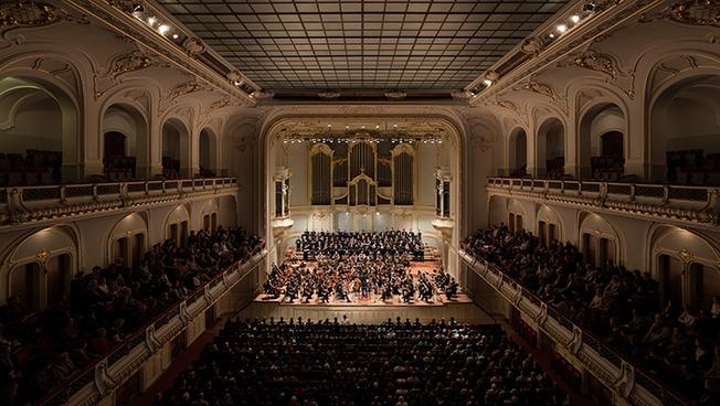 Konzert im großen Saal der Laeiszhalle.
