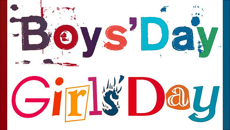 Logo Girls' und Boys' Day
