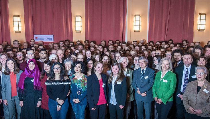 Gruppenbild Deutschlandstipendium 2018