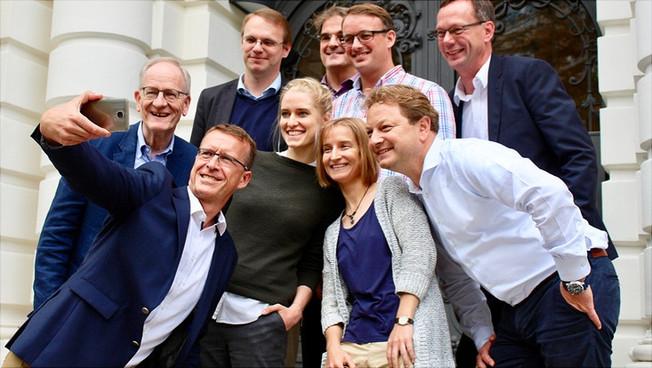 Die Antragstellerinnen und Antragsteller der DFG-Forschergruppe
