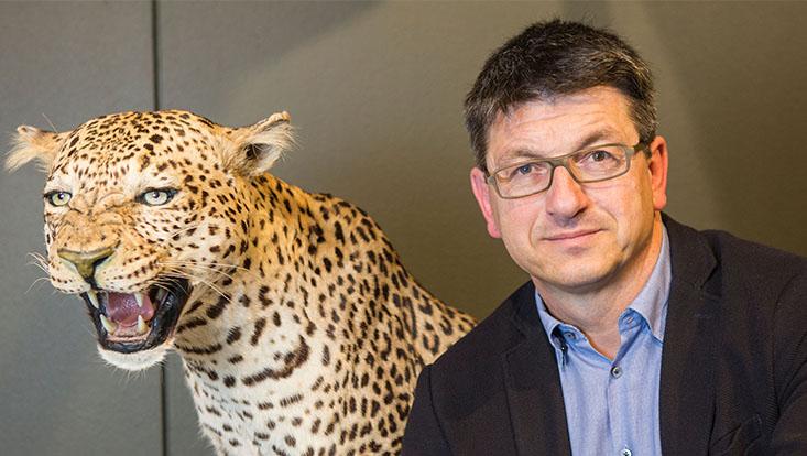 Prof. Dr. Matthias Glaubrecht, wissenschaftlicher Direktor des Centrums für Naturkunde