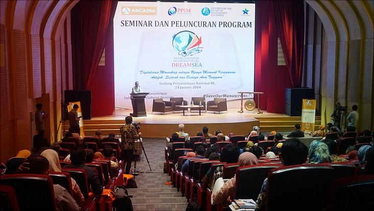 Auftaktveranstaltung von DREAMSEA in Jakarta