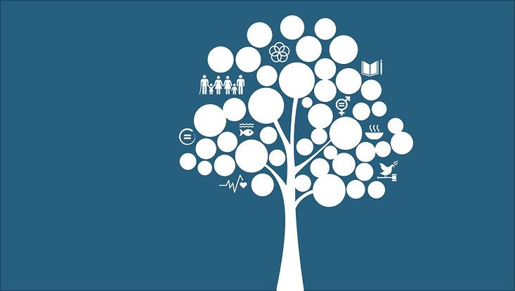 Baumgrafik Aktionstage Nachhaltigkeit