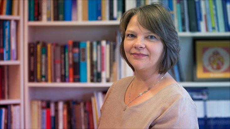 Politikwissenschaftlerin Dr. Regina Heller vom Institut für Friedensforschung und Sicherheitspolitik an der Universität Hamburg