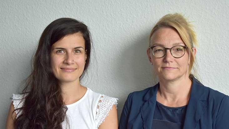 Porträt von Prof. Dr. Miriam Beblo und Luise Görges