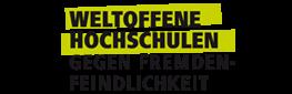 Logo Weltoffene Hochschulen – Gegen Fremdenfeindlichkeit