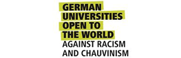 Logo Universities for openness, tolerance and against xenophobia