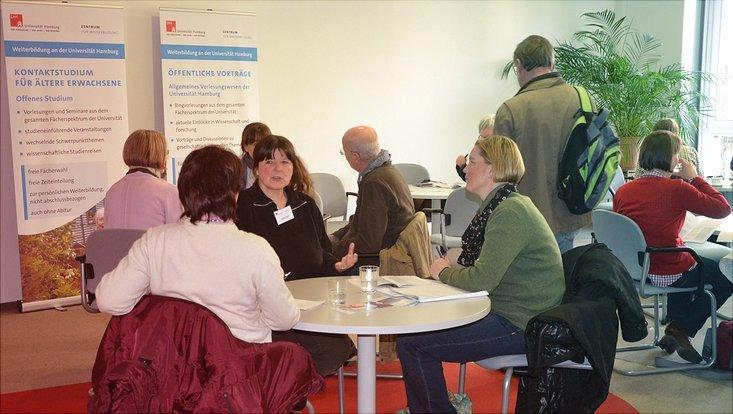 Individuelle Beratungsgespräche im Zentrum für Weiterbildung