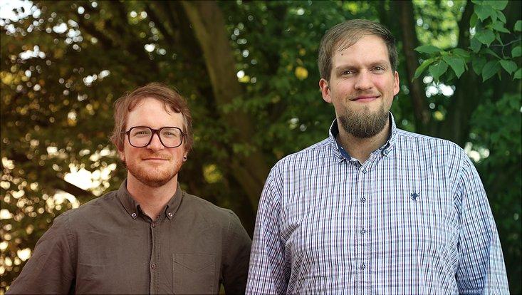 Marek Endrich und Dr. Stephan Michel (v.l.)