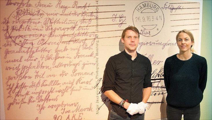 """""""Lebenszeichen"""": Eine Ausstellung im Medizinhistorischen Museum zeigt Fotopostkarten aus den Lazaretten des Ersten Weltkriegs"""