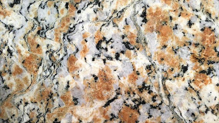 Granit aus dem Untergrund des Kraterbodens
