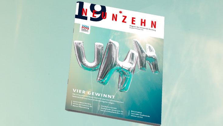 Titelblatt der neuen 19NEUNZEHN-Ausgabe