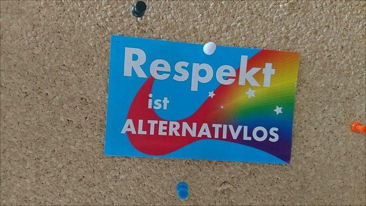 Respekt ist alternativlos