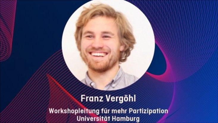 Das Bild zeigt Franz Vergöhl als Semester-Champion auf der HFD-Website