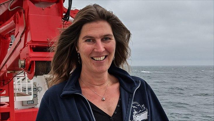 Jede Tiefseeexpedition ist sehr spannend. Anne-Nina Lörz arbeitet unglaublich gern an Bord.