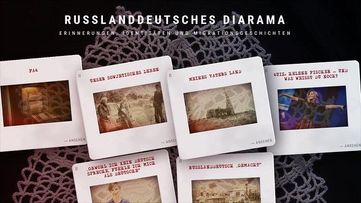 startseite des dossiers russland deutsches diarama