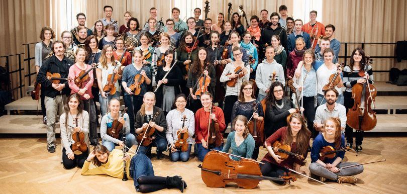 Ein Gruppenbild unseres Orchesters