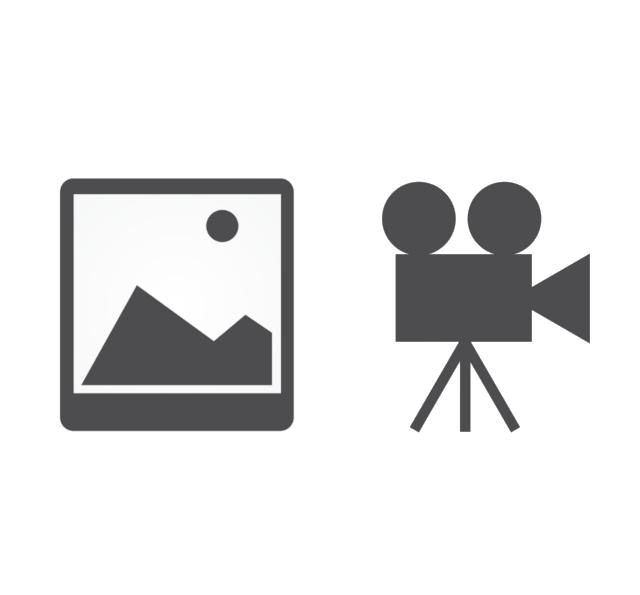 Symbolbild Kamera und Bild